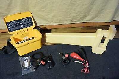 Dynatel 3M Transmitter Locator ModeI 2273 with 2 Inductive Clamps #2