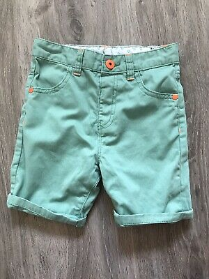 George At Asda Green Boys Shorts - Age 3-4 - New Without Tags