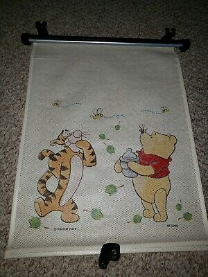 Child Car Window Sun Adjustable BLIND Shade WINNIE THE POOH by First Years