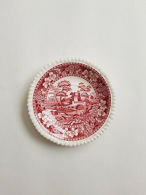 Spode China TOWER PINK (OLD MARK) Oversized Saucer FREE POST