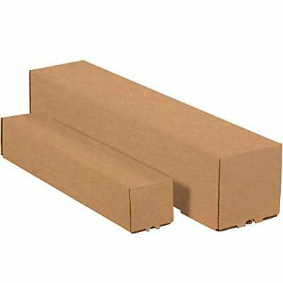 """Square Mailing Tubes 5"""" x 5"""" x 48"""" Kraft 25/Bundle by Discount Shipping USA"""