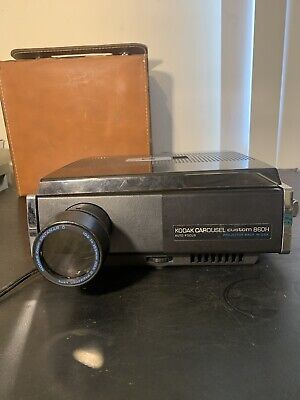 Vintage Kodak Carousel Project 860H Custom  With Extra Lamps