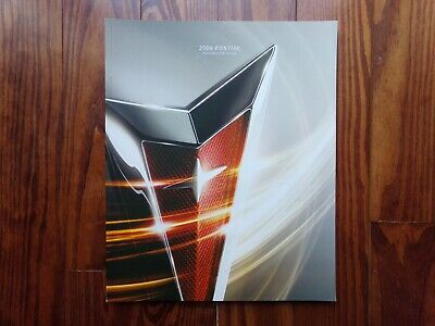 Last PONTIAC Deluxe Sales Brochure - 2009- New