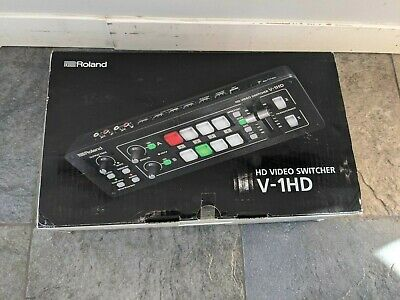 Roland V-1HD HD 4 HDMI Input Video Switcher w Built-In 12 Channel Audio Mixer