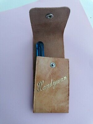 Handyman Engraved, Tool Belt Pouch, for DIY Lovers or craft gift