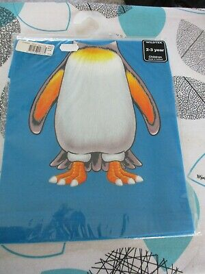 Childrens Unisex  Wildtex Penguin Style  T Shirt Age 2-3  BNIB