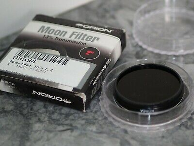 """Orion  2.0"""" Moon Filter for Telescope Eyepiece"""