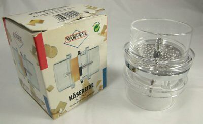 Rare Vintage Solingen Kasereibe Aus Acryl / Acrylic Cheese Grinder 80s 90s Look