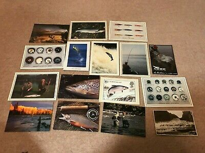 Fishing Collectables - Various Fishing Postcards - All Unused