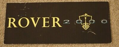 Rover 2000 P6 Series 1 S1 1963 1964 Launch Small Format Foldout UK Brochure