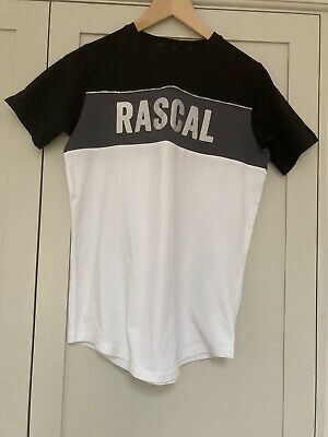RASCAL Black/grey/white T-Shirt LB