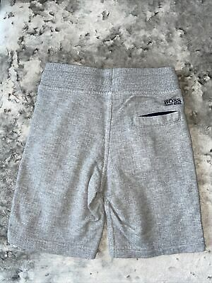 Boss Grey Shorts Age 6 Years Boys Grey Hugo Boss Short Kids Boss