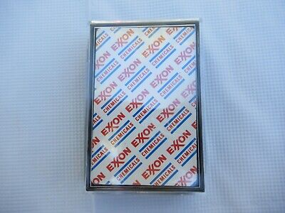 4 Decks Of New Sealed Playing Cards Marked Exxon Chemicals