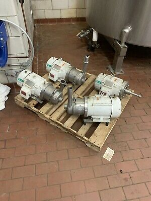APV Centrifugal Pump W 20/20 Pump with 7.5 HP Reliance 3 Phase Motor