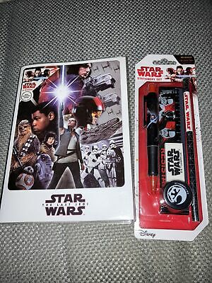 star wars stationery Set 6 Pieces