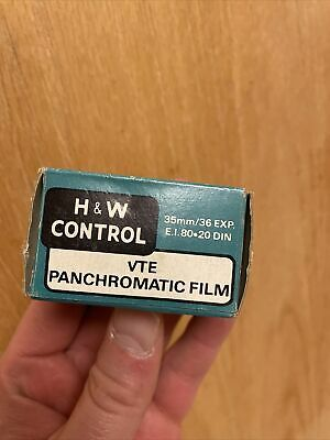 Rare H&W Control VTE Panchromatic EXPIRED 35mm Film