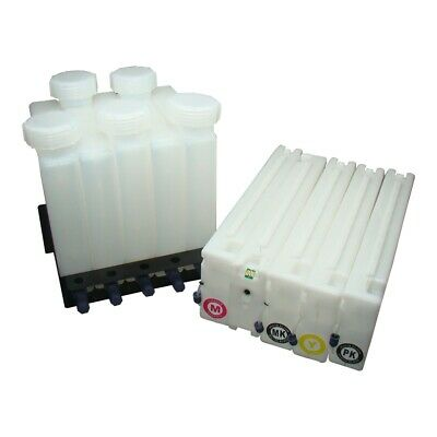 Bulk Ink Supply System w/ One-time Chip for Epson SureColor T3000 T5000 T7000