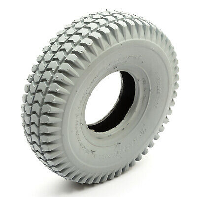 Tyre /& Inner Tube 9x3.50-4 9x350-4 4 Ply Block Tread Mobility Scooter 4 Inch