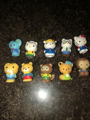 Lot of 10 Blip Sanrio Hello Kitty Squinkies
