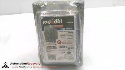 Red Dot Ckru-8  Outlet Box & Cover, New #287644