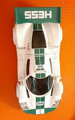 2009 Hess Race Car With Racer, Lights And Sounds Work, No Box.