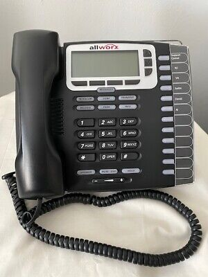 Allworx 9212L Office Handset Phone with Stand