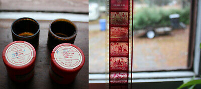 """"""" HOW THE INDIANS LIVED """" Jam Handy Filmstrip (x2)"""