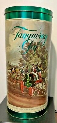 Tangueray Vintage Tin Coaching to the Club Advertising Gin 150th Anniversary