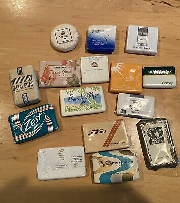 Vintage Miniature Soap Bars Hotel Motels