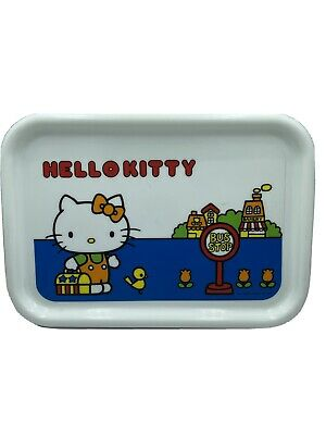 SANRIO Hello Kitty Plastic Tray 1976 FROM JAPAN F / S VINTAGE