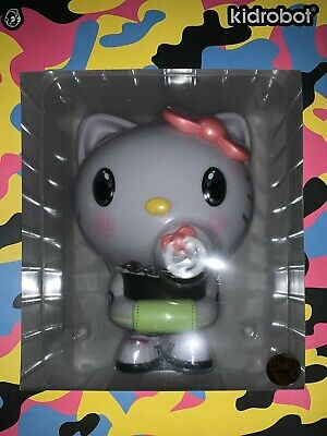 "SDCC 2020 Exclusive Kidrobot x 6.5"" Hello Kitty x Quiccs Art Figure Neon Pop"