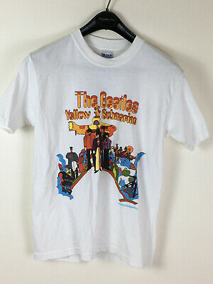 The Beatles Yellow Submarine Japan Men/'s T-shirt Red Official Licensed Music