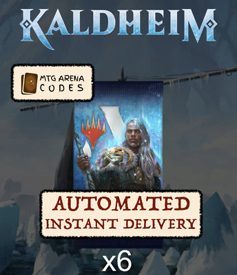 MTGA Core Set 2020 M20 Prerelease Magic Arena 6 Boosters FAST Code EMAIL 1//acct