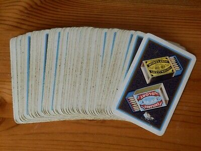 MORELANDS MATCHES Advertising A Playing Cards 1 Single Card Old ENGLANDS GLORY