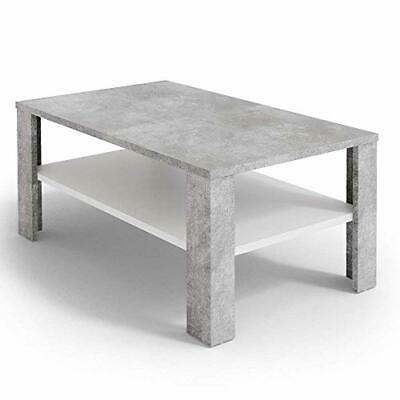 Vicco table basse Amato table de salon sonoma blanc console table d'appoint