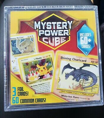 Pokemon Trading Card Game Mystery Power Cube Shining Charizard Factory Sealed