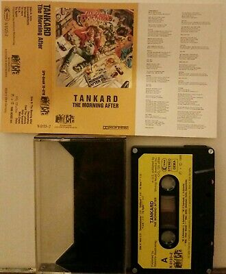 Tankard - The Morning After German tape cassette