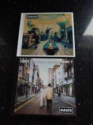 2 Oasis Definitely Maybe Deluxe Edition Oasis WHATS THE STORY MORNING GLORY 3 CD