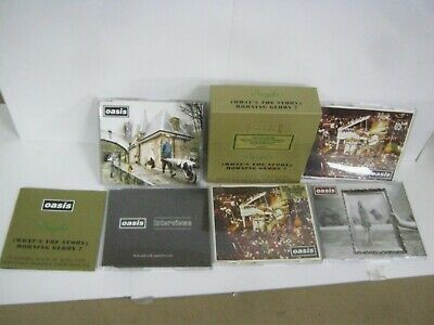 Cd Album Box-Set Oasis Singles 9Whats The Story) Morning Glory? 3611