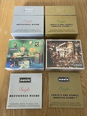 oasis definitely maybe and Whats the Story Morning Glory Singles Cd Bh Boxset