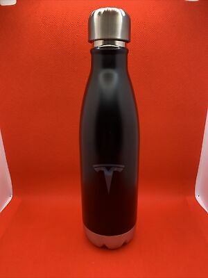 Tesla Logo H2go Force Copper Vacuum Stainless Steel Water Bottle 17oz New 14 99 Picclick