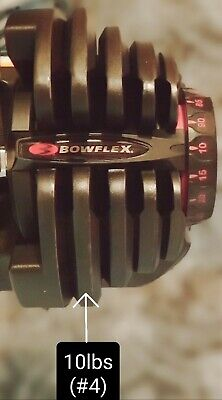 Replacement Weight Plate 7.5lb Bowflex 1090 SelectTech Dumbbell #3 Middle