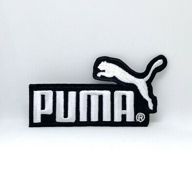 PUMA SPORTS LOGO badge Iron Sew on Embroidered Patch - £2.49 ...