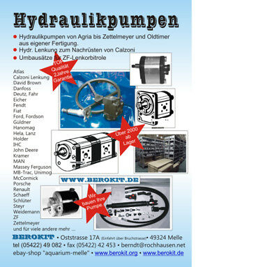 New Holland  CNH 885 Lader Hydraulikpumpe Sauer Danfoss 0510725361 89809680