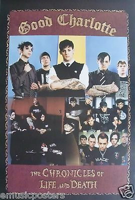 "Good Charlotte ""chronicles Of Life & Death - Collage Of Group"" Poster From Asia"