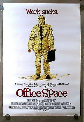 Office Space * Cinemasterpieces Bus Stop Original Movie Poster Rolled Ds