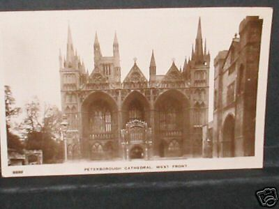 CAMBRIDGESHIRE-Peterborough Cathedral, West Front R/P