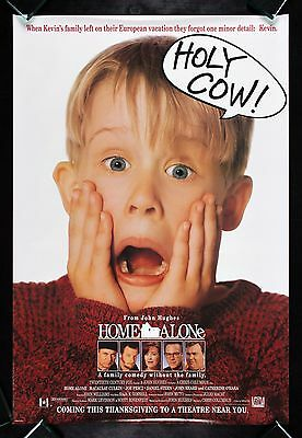 HOME ALONE * CineMasterpieces ADVANCE 1SH ORIGINAL MOVIE POSTER DS ROLLED