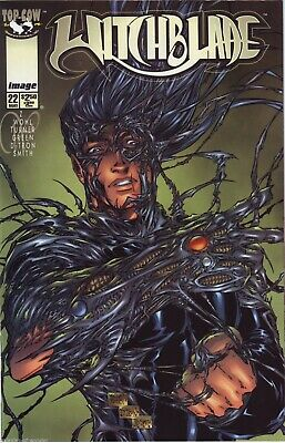 Witchblade #22  bad girl comic