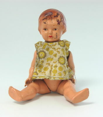 ANTIQUE GERMAN CELLULOID DOLL BABY DRESS